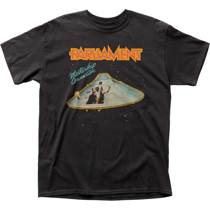 Parliament Mothership Connection Mens T Shirt Black