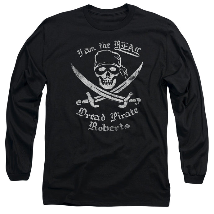 The Princess Bride The Real Dpr Mens Long Sleeve Shirt Black