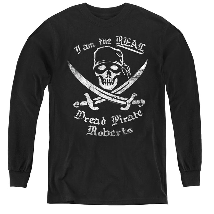 The Princess Bride The Real Dpr Long Sleeve Kids Youth T Shirt Black