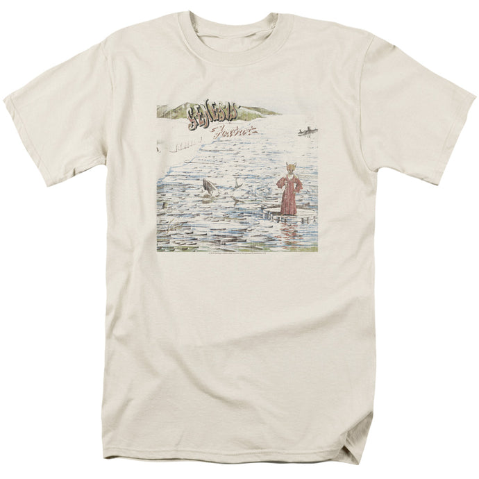 Genesis Foxtrot Mens T Shirt Cream
