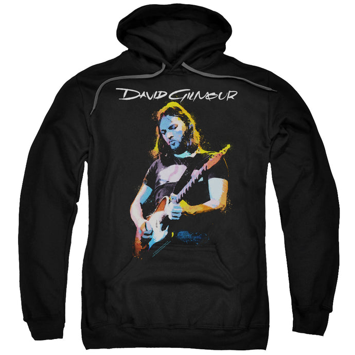 David Gilmour Guitar Gilmour Mens Hoodie Black