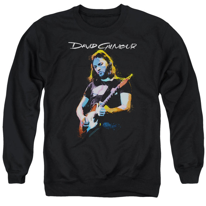David Gilmour Guitar Gilmour Mens Crewneck Sweatshirt Black