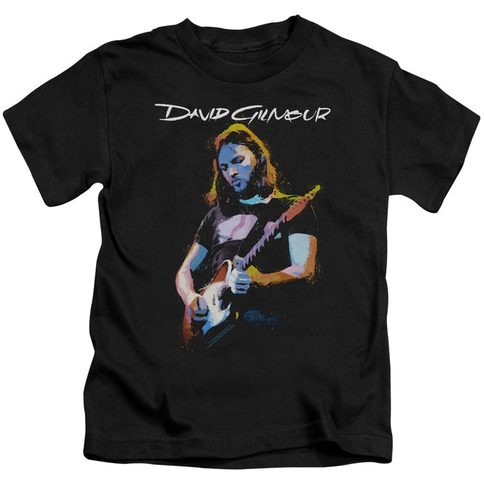 David Gilmour Guitar Gilmour Juvenile Kids Youth T Shirt Black