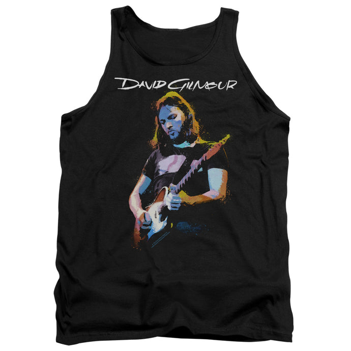 David Gilmour Guitar Gilmour Mens Tank Top Shirt Black