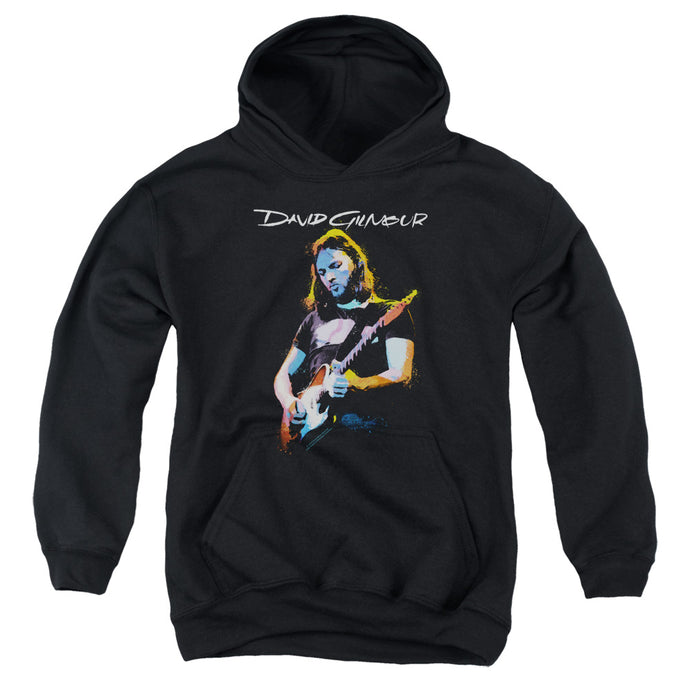 David Gilmour Guitar Gilmour Kids Youth Hoodie Black