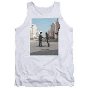 Pink Floyd Wish You Were Here Mens Tank Top Shirt White