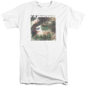Pink Floyd Saucerful of Secrets Mens Tall T Shirt White