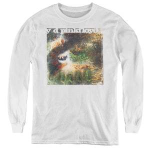 Pink Floyd Saucerful of Secrets Long Sleeve Kids Youth T Shirt White