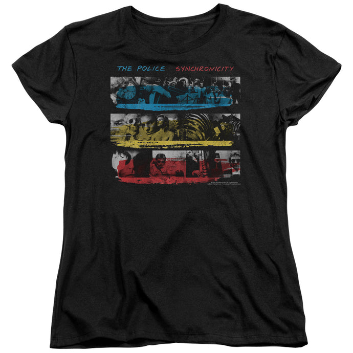 The Police Syncronicity Womens T Shirt Black