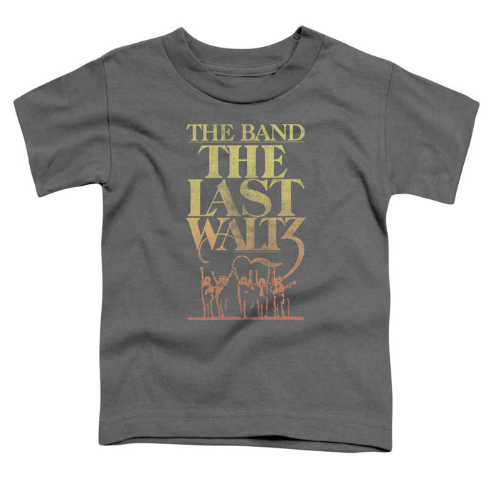 The Band The Last Waltz Toddler Kids Youth T Shirt Charcoal