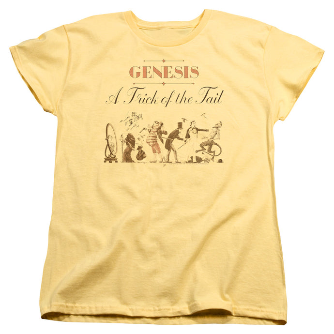 Genesis Trick Of The Tail Womens T Shirt Yellow