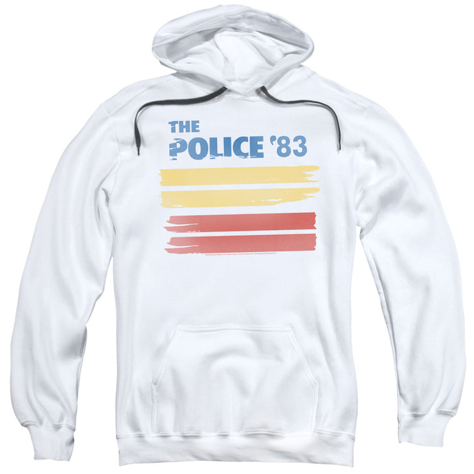 The Police 83 Mens Hoodie White