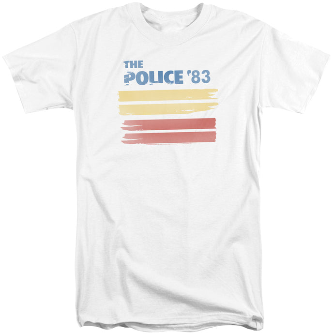 The Police 83 Mens Tall T Shirt White