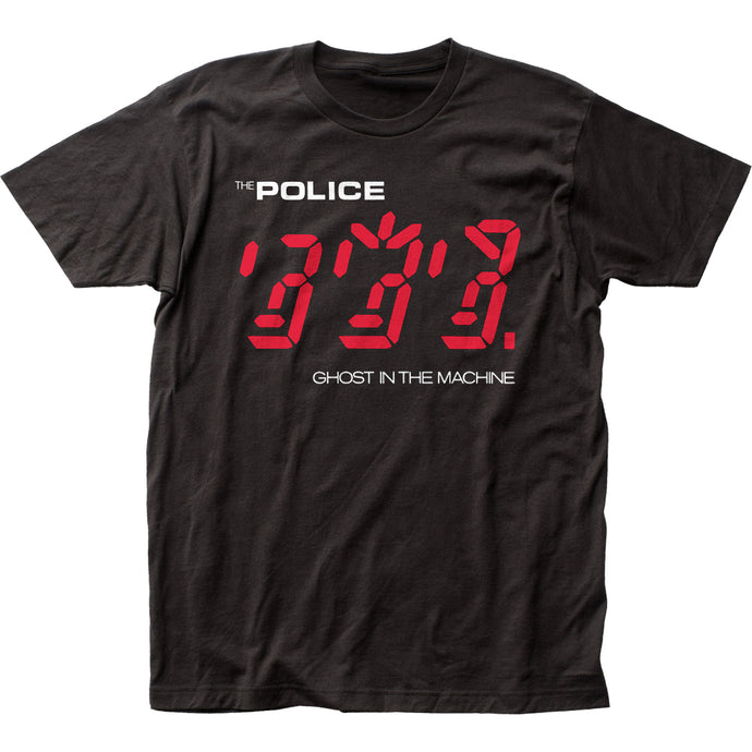 The Police Ghost In The Machine Mens T Shirt Black