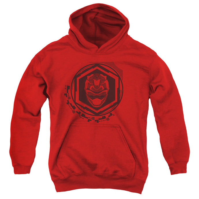 Power Rangers Red Ranger Kids Youth Hoodie Red