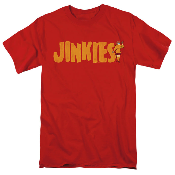 Scooby Doo Jinkies Mens T Shirt Red