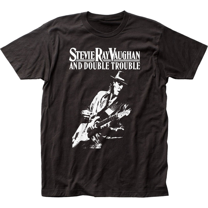 Stevie Ray Vaughan Live Alive Mens T Shirt Black