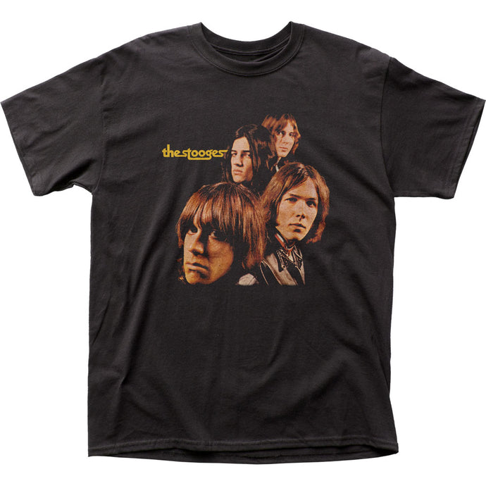 Iggy Pop The Stooges Mens T Shirt Black