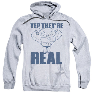 Family Guy Real Build Mens Hoodie Athletic Heather
