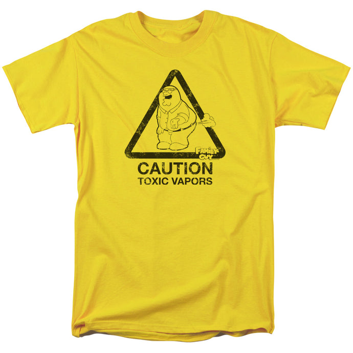 Family Guy Toxic Vapors Mens T Shirt Yellow