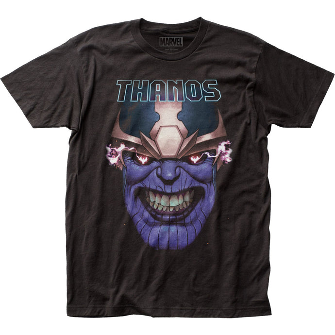 Thanos Teeth Clenched Mens T Shirt Black