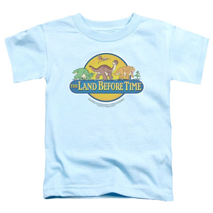 The Land Before Time Dino Breakout Toddler Kids Youth T Shirt Light Blue