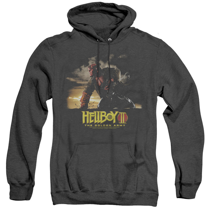 Hellboy II Poster Art Heather Mens Hoodie Black