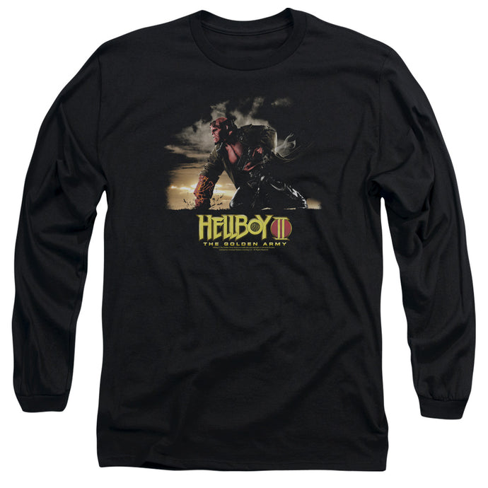 Hellboy II Poster Art Mens Long Sleeve Shirt Black