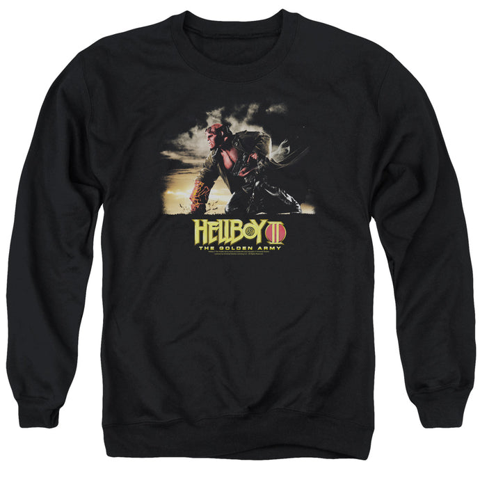 Hellboy II Poster Art Mens Crewneck Sweatshirt Black