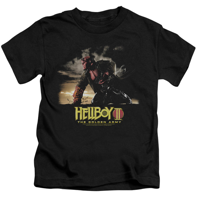 Hellboy II Poster Art Juvenile Kids Youth T Shirt Black