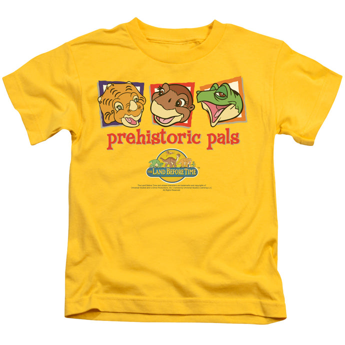 The Land Before Time Prehistoric Pals Juvenile Kids Youth T Shirt Yellow