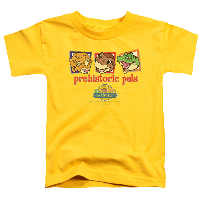 The Land Before Time Prehistoric Pals Toddler Kids Youth T Shirt Yellow