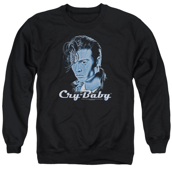 Cry Baby King Cry Baby Mens Crewneck Sweatshirt Black