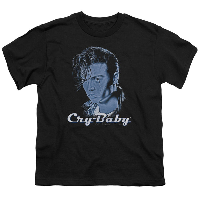 Cry Baby King Cry Baby Kids Youth T Shirt Black