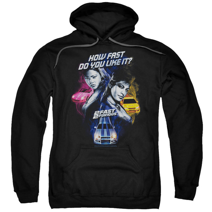 2 Fast 2 Furious Fast Women Mens Hoodie Black