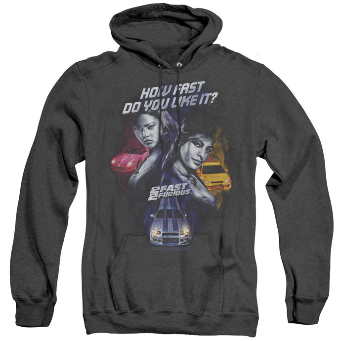 2 Fast 2 Furious Fast Women Heather Mens Hoodie Black