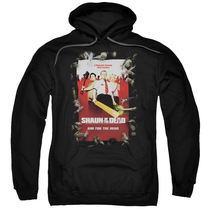 Shaun Of The Dead Poster Mens Hoodie Black