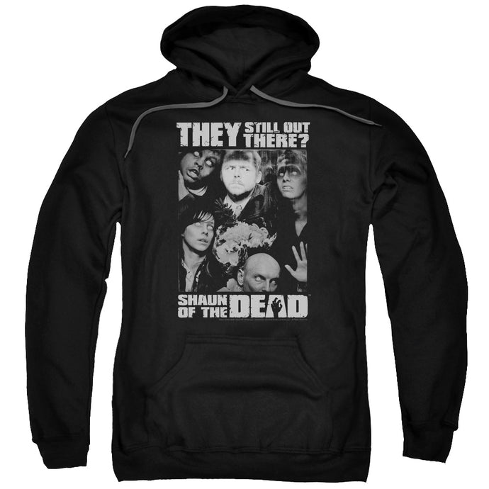 Shaun Of The Dead Still Out There Mens Hoodie Black