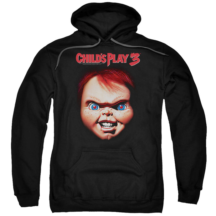 Childs Play 3 Chucky Mens Hoodie Black