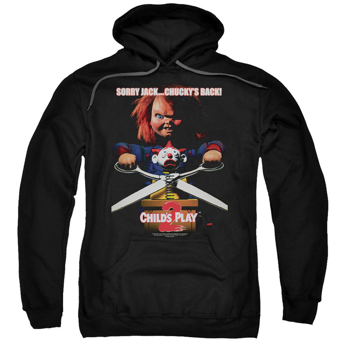 Childs Play 2 Chuckys Back Mens Hoodie Black