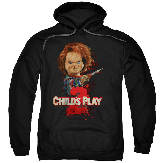 Childs Play 2 Heres Chucky Mens Hoodie Black