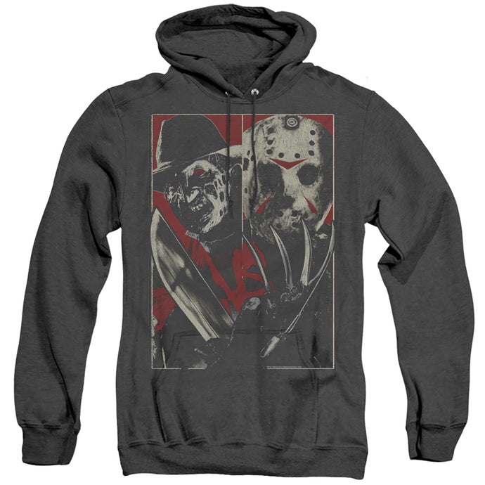 Freddy Vs Jason Vs Heather Mens Hoodie Black
