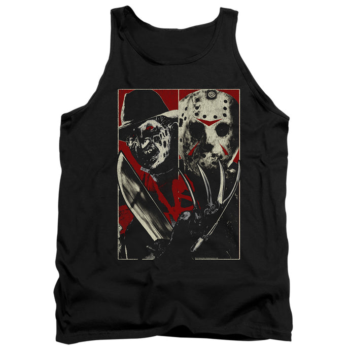 Freddy Vs Jason Vs Mens Tank Top Shirt Black