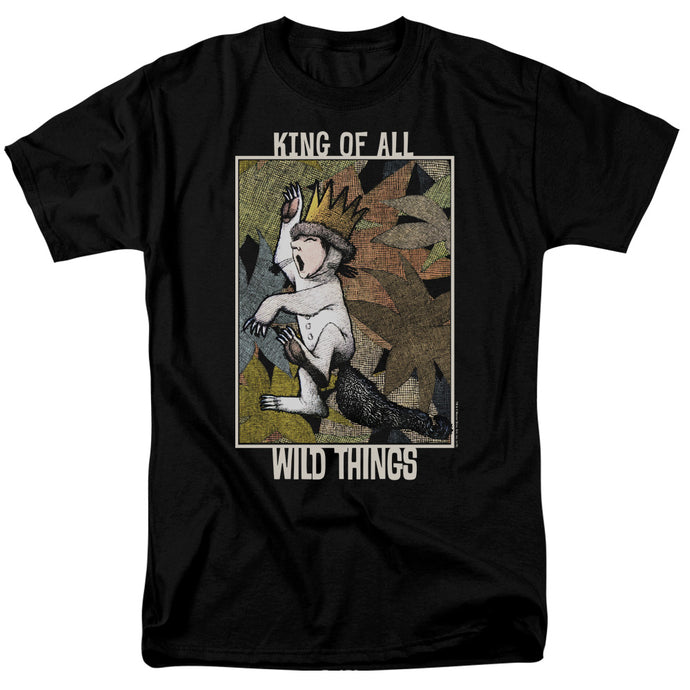 Where The Wild Things Are King Of All Wild Things Mens T Shirt Black