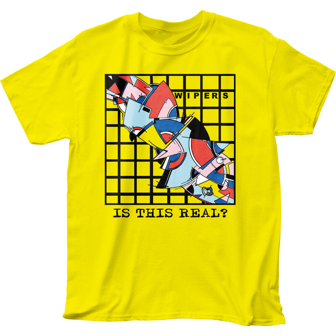 Wipers Is This Real? Mens T Shirt Yellow
