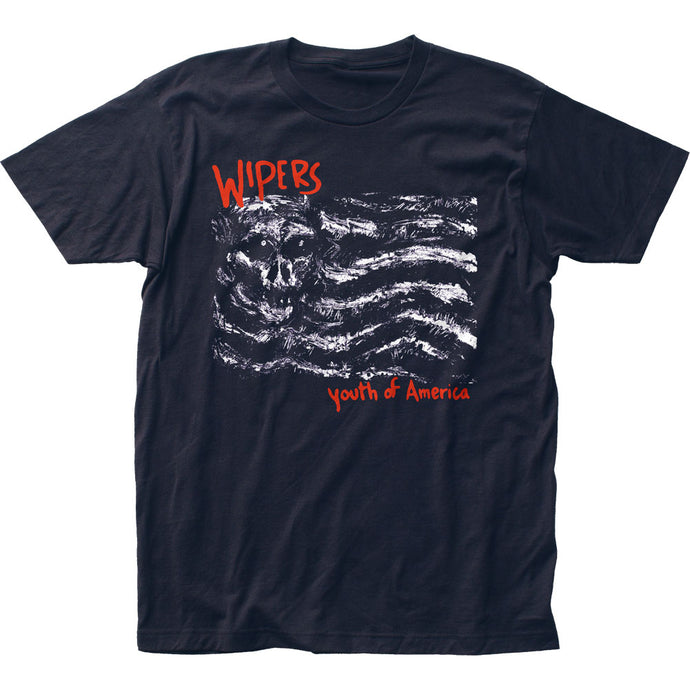Wipers Youth of America Mens T Shirt Navy