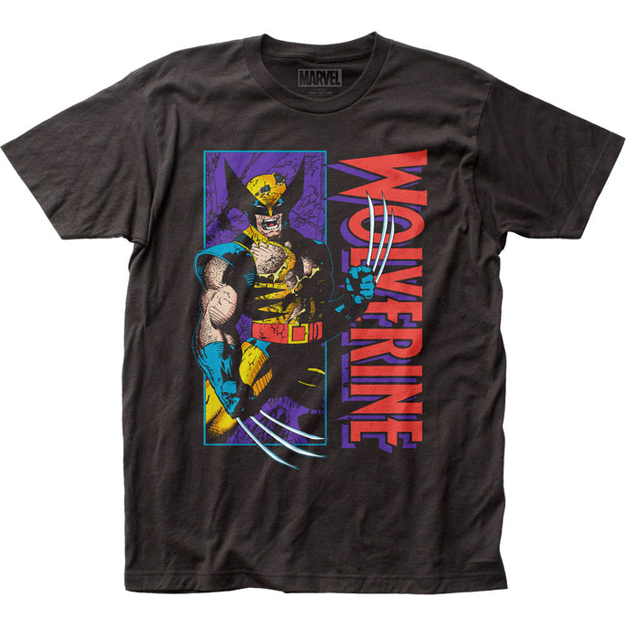 Wolverine Shredded Mens T Shirt Black