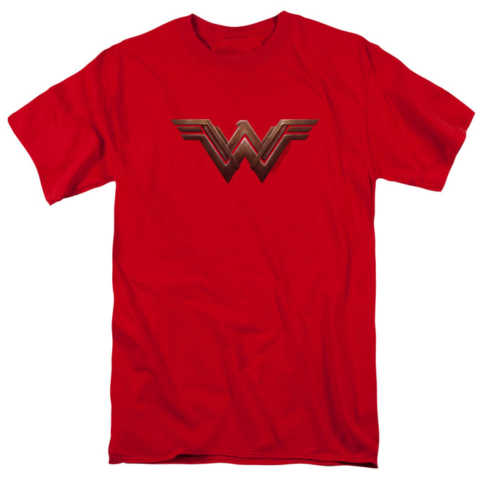 Wonder Woman Movie Wonder Woman Logo Mens T Shirt Red