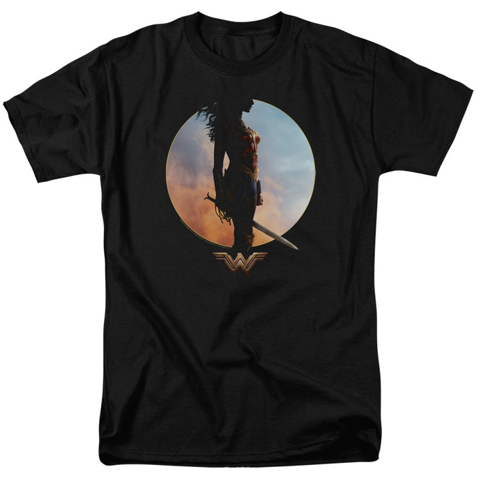 Wonder Woman Movie Wisdom And Wonder Mens T Shirt Black