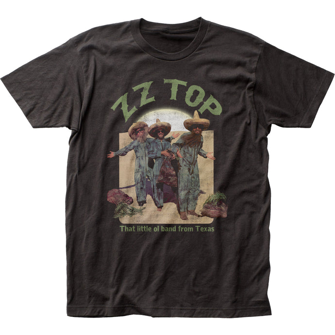 ZZ Top El Loco Mens T Shirt Black